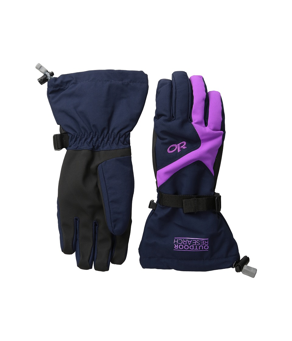 Outdoor Research - Adrenaline Gloves (Night/Ultraviolet) Extreme Cold Weather Gloves