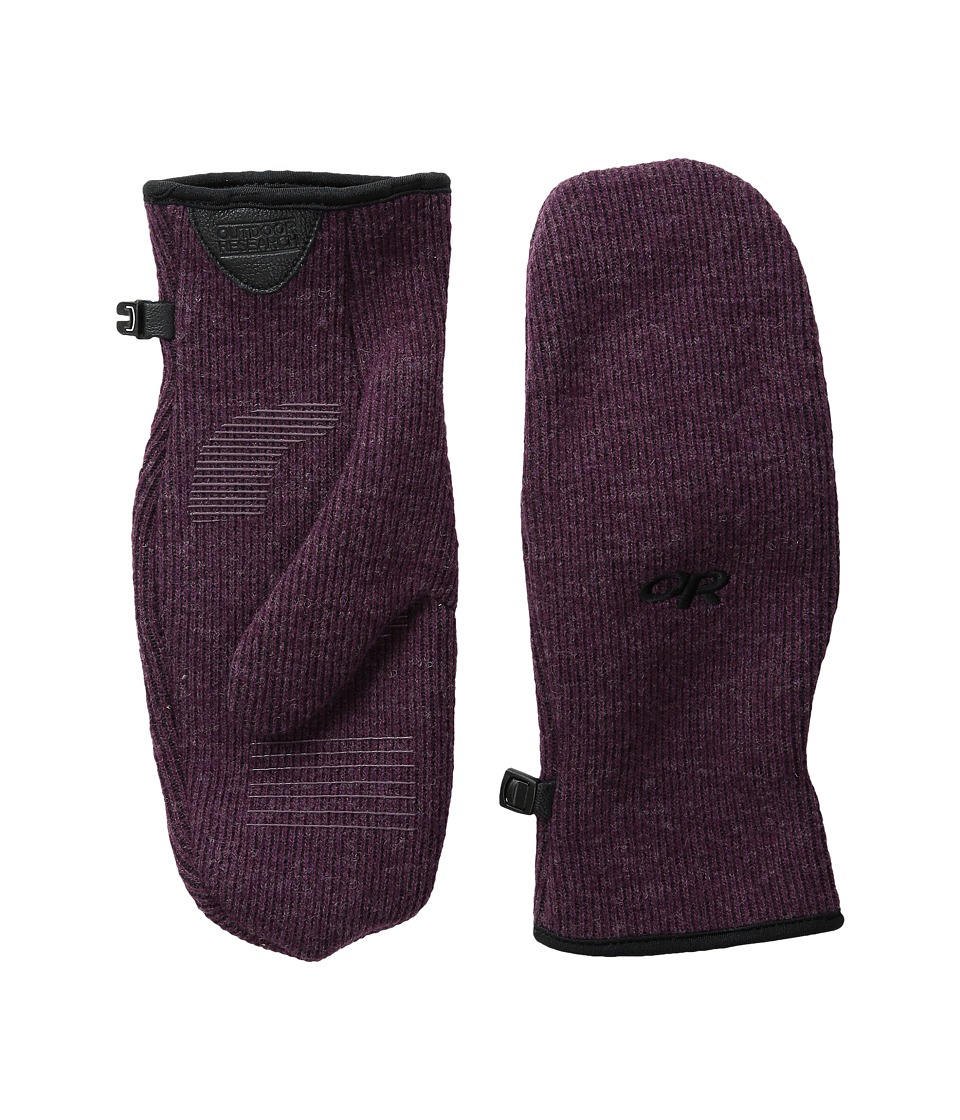 Outdoor Research - Flurry Mitts (Pinot) Extreme Cold Weather Gloves