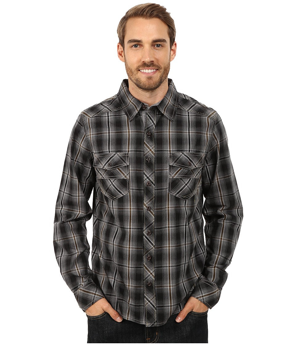 Ecoths - Conrad Long Sleeve Shirt (Phantom) Men's Long Sleeve Button Up