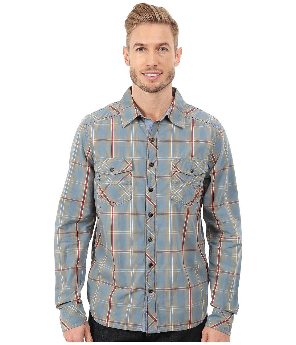 Ecoths - Conrad Long Sleeve Shirt (Citadel) Men