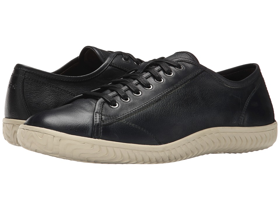 John Varvatos - Hattan Low Top (Mineral Black) Men's Lace up casual Shoes