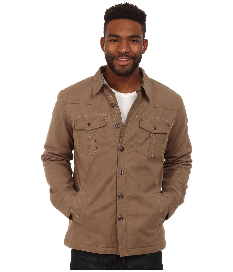 Ecoths - Ryker Jacket (Dark Khaki) Men