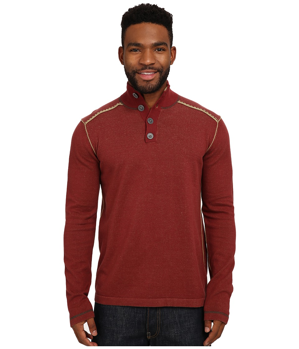 Ecoths - Maddox Sweater (Russet Brown) Men's Sweater