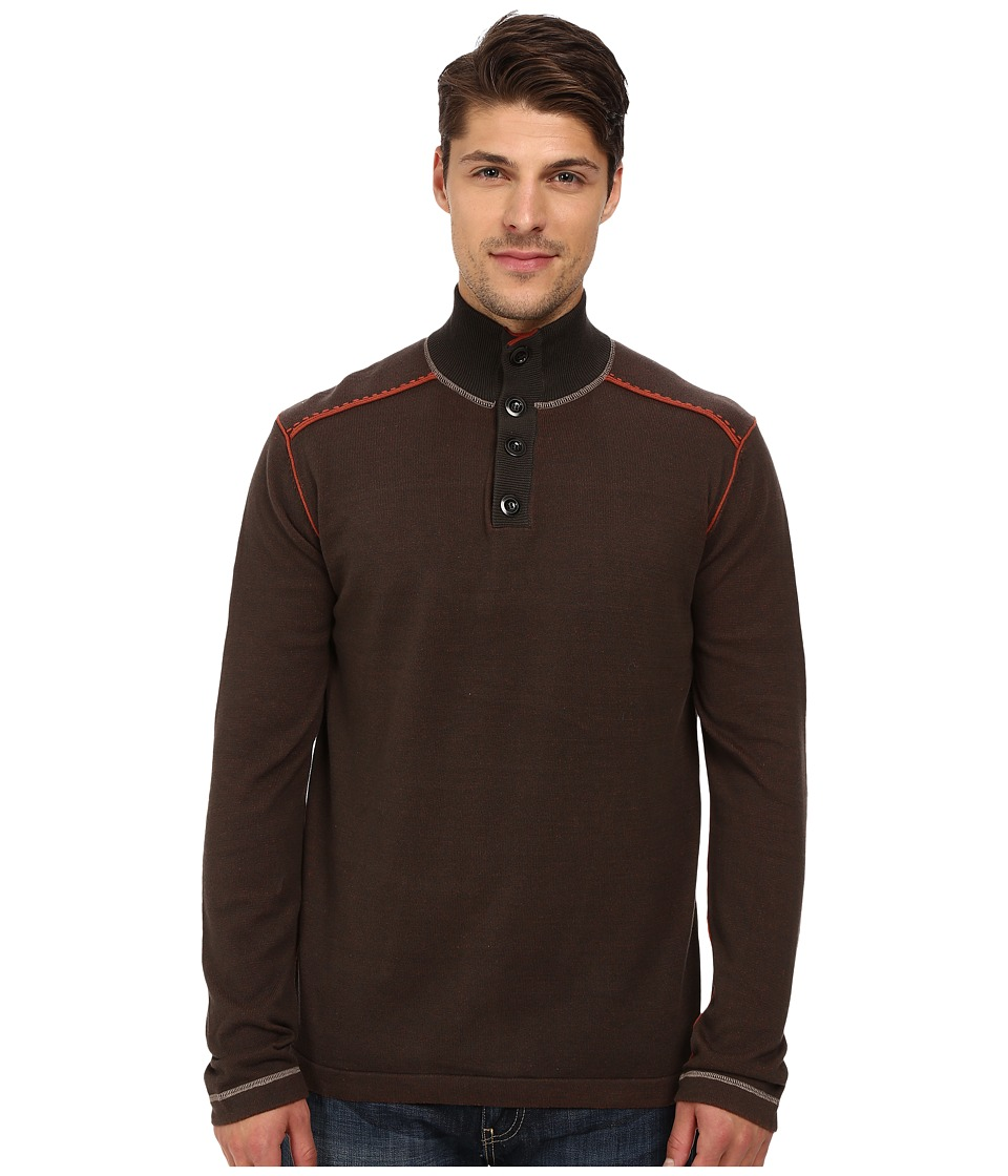 Ecoths - Maddox Sweater (Black Olive) Men