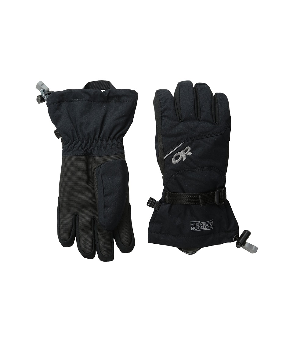 Outdoor Research - Adrenaline Gloves (Little Kid/Big Kid) (Black) Extreme Cold Weather Gloves