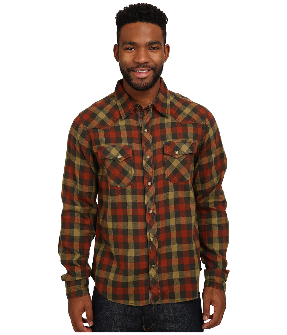 Ecoths - Rucker Long Sleeve Shirt (Arabian Spice) Men