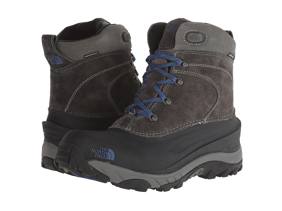 The North Face - Chilkat II (Graphite Grey/Estate Blue) Men's Cold Weather Boots