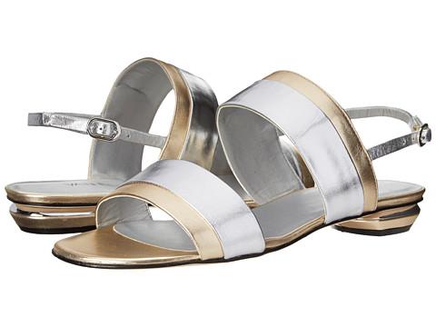 Vaneli - Bijan (Silver Metallic Nappa/Platino Metallic Nappa) Women's Sandals