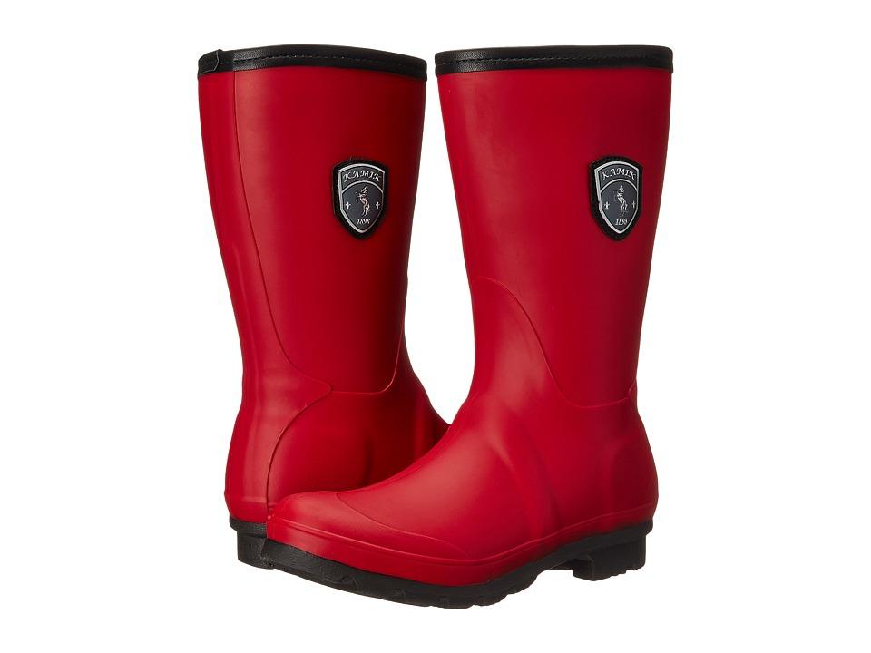 Kamik - JenniferM (Rio Red) Women's Rain Boots