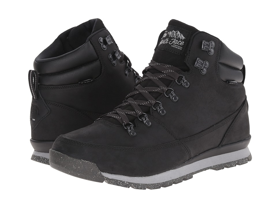 The North Face - Back-To-Berkeley Redux Leather (TNF Black/TNF Black) Men's Hiking Boots