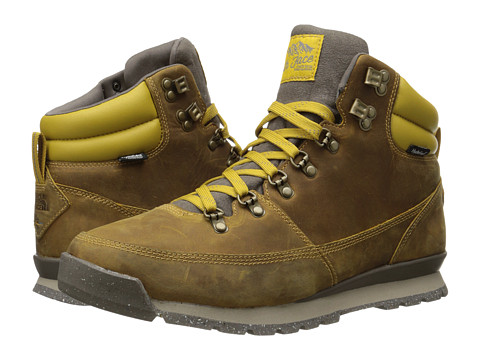 The North Face - Back-To-Berkeley Redux Leather (Olive Oil/Morel Brown) Men's Hiking Boots
