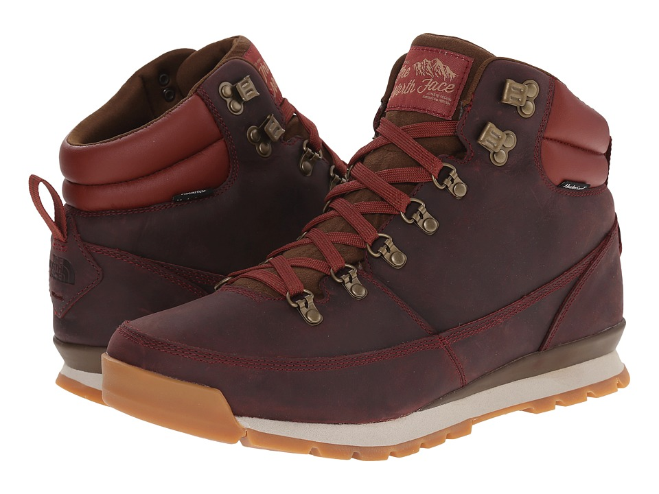 The North Face - Back-To-Berkeley Redux Leather (Brick House Red/Desert Palm Brown) Men's Hiking Boots