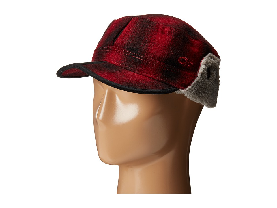 Outdoor Research - Yukon Cap (Redwood/Black) Cold Weather Hats