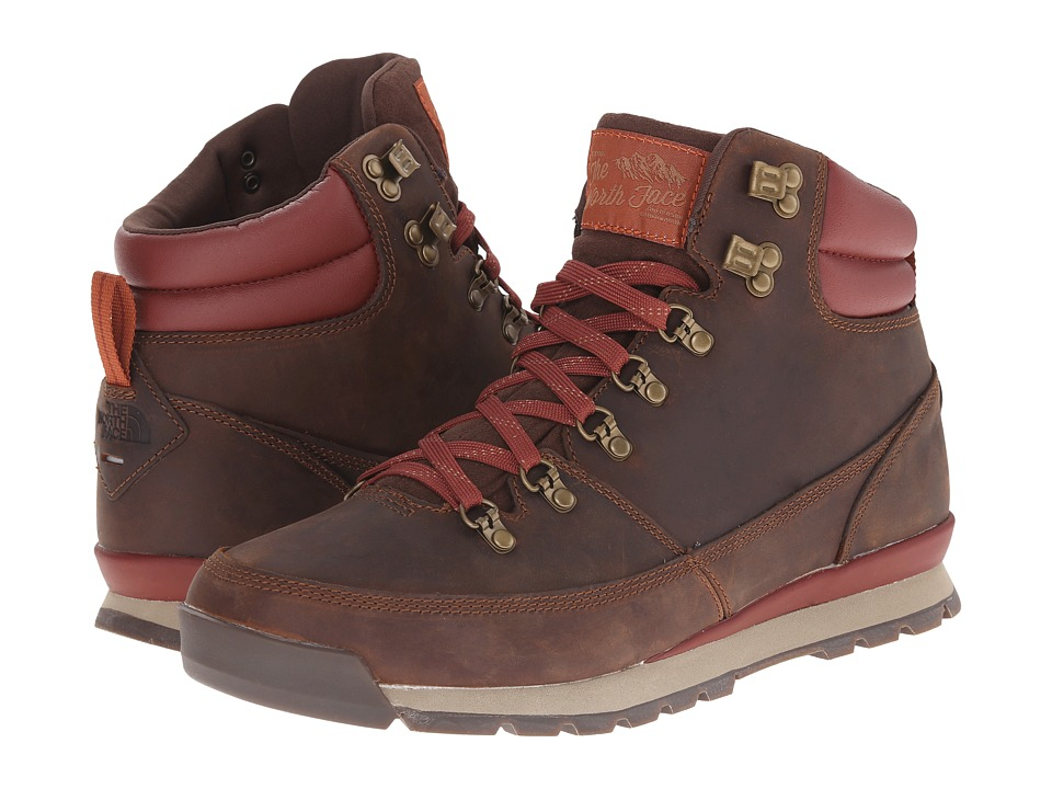 The North Face - Back-To-Berkeley Redux Leather (Trans) (Ginger Bread Brown/Deep Brown) Men's Hiking Boots