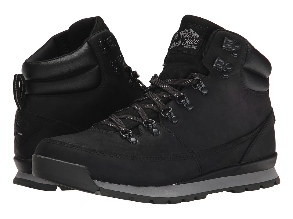 The North Face - Back-To-Berkeley Redux Leather (Trans) (TNF Black/TNF Black) Men