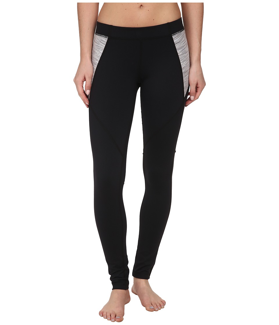 Tonic - Pursuit Legging (Black/Salt and Pepper) Women's Workout