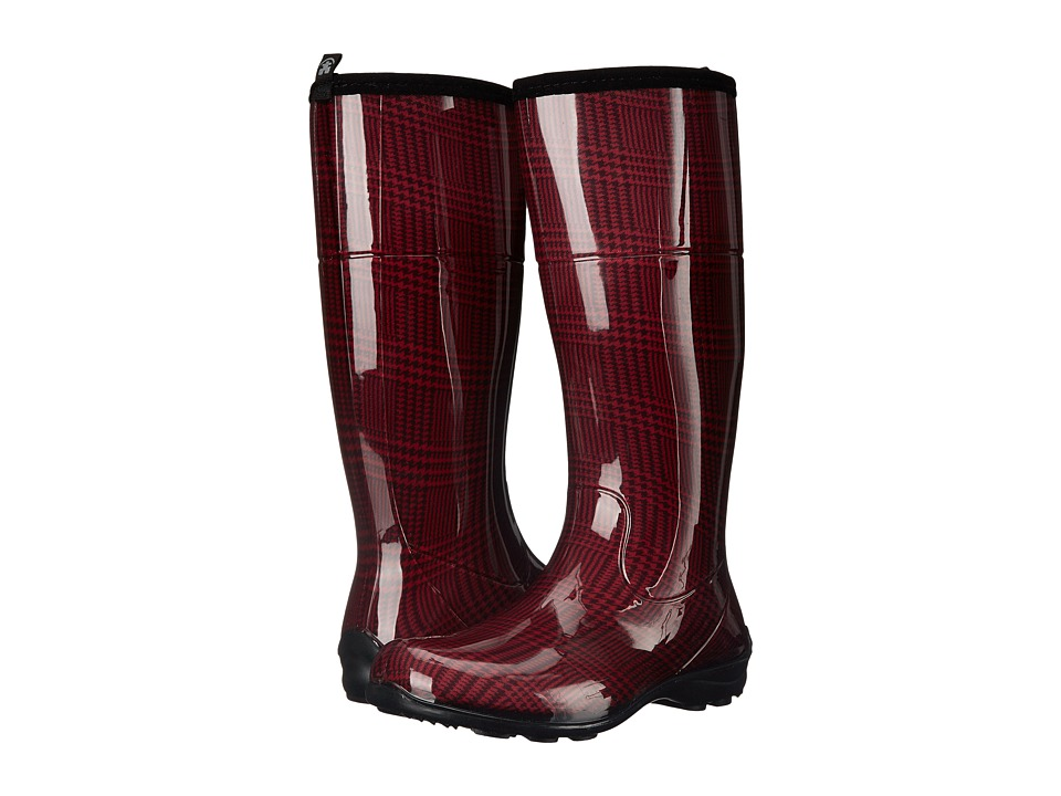 Kamik - Checks (Rio Red) Women's Rain Boots