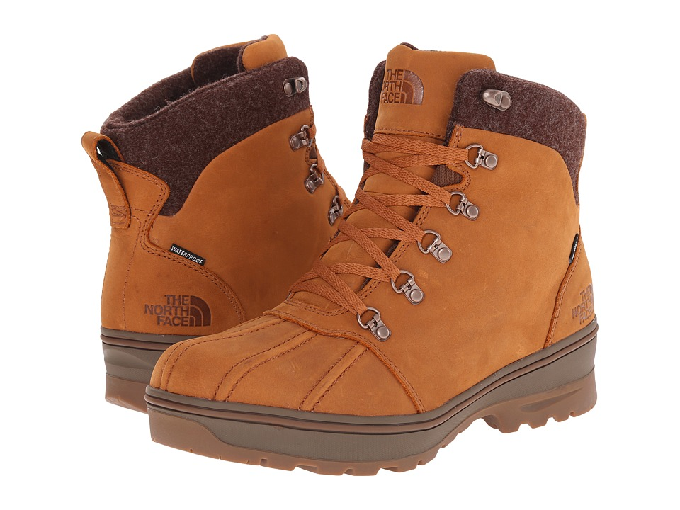 The North Face - Ballard Duck Boot (Glazed Ginger Brown/Desert Palm Brown) Men's Hiking Boots