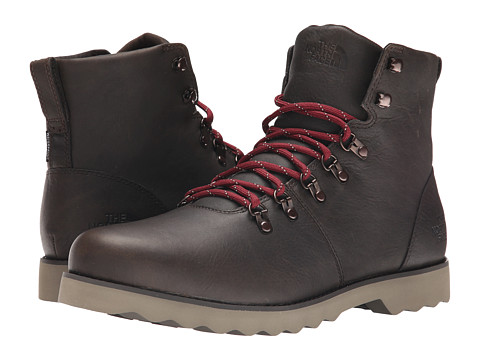 The North Face - Ballard II (Weimaraner Brown/Brick House Red) Men's Lace-up Boots