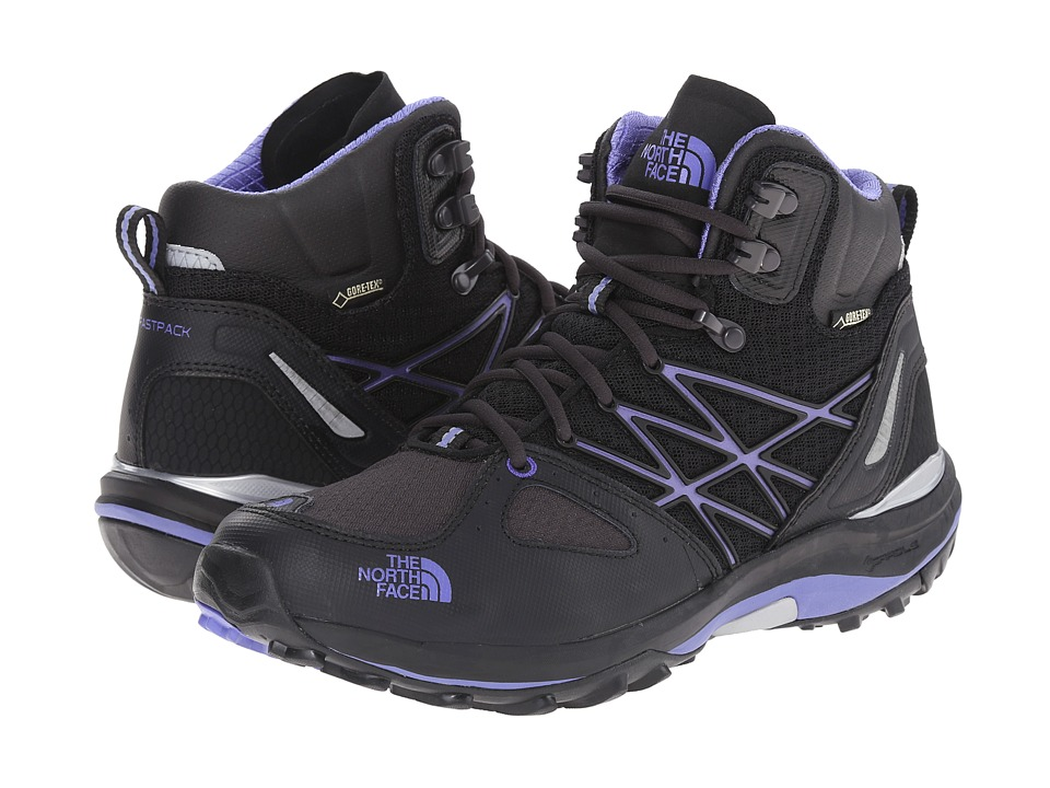 The North Face - Ultra Fastpack Mid GTX (TNF Black/Blue Iris) Women's Shoes