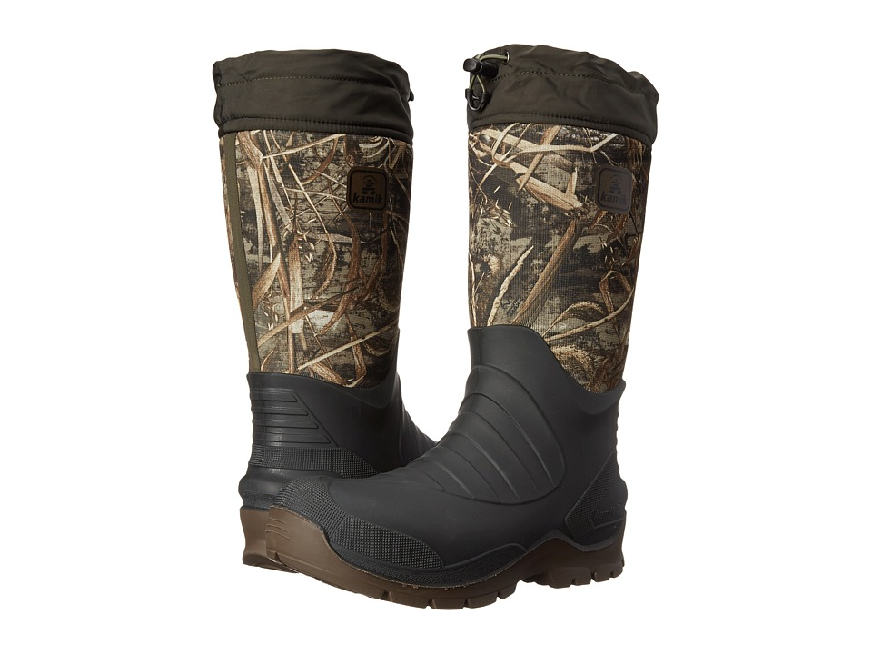 Kamik - Coldcreek (Realtree Max 5 Mini) Men's Cold Weather Boots