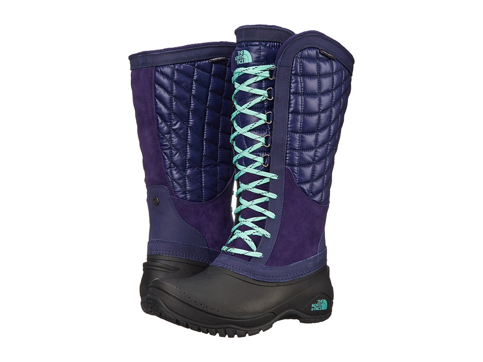 The North Face - ThermoBall Utility (Astral Aura Blue/Surf Green) Women's Boots