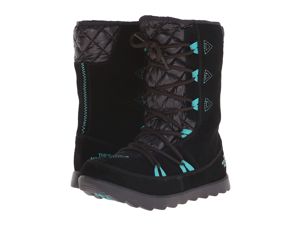 The North Face ThermoBall Apr s Bootie (TNF Black/Kokomo Green) Women