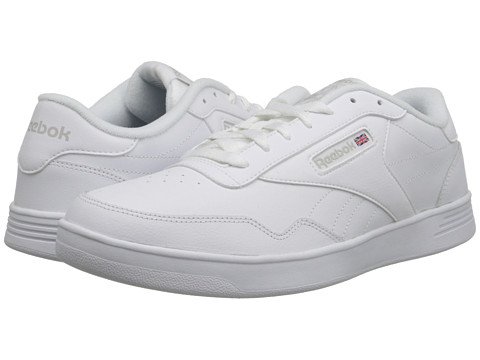 Reebok - Club Memt (White/Steel) Men's Classic Shoes