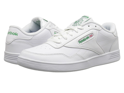 Reebok - Club Memt (White/Glen Green) Men's Classic Shoes