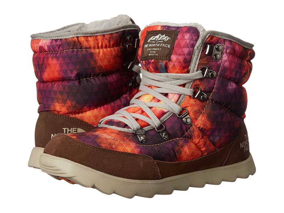 The North Face - ThermoBall Lace (Tessellated Floral/Deep Brown) Women