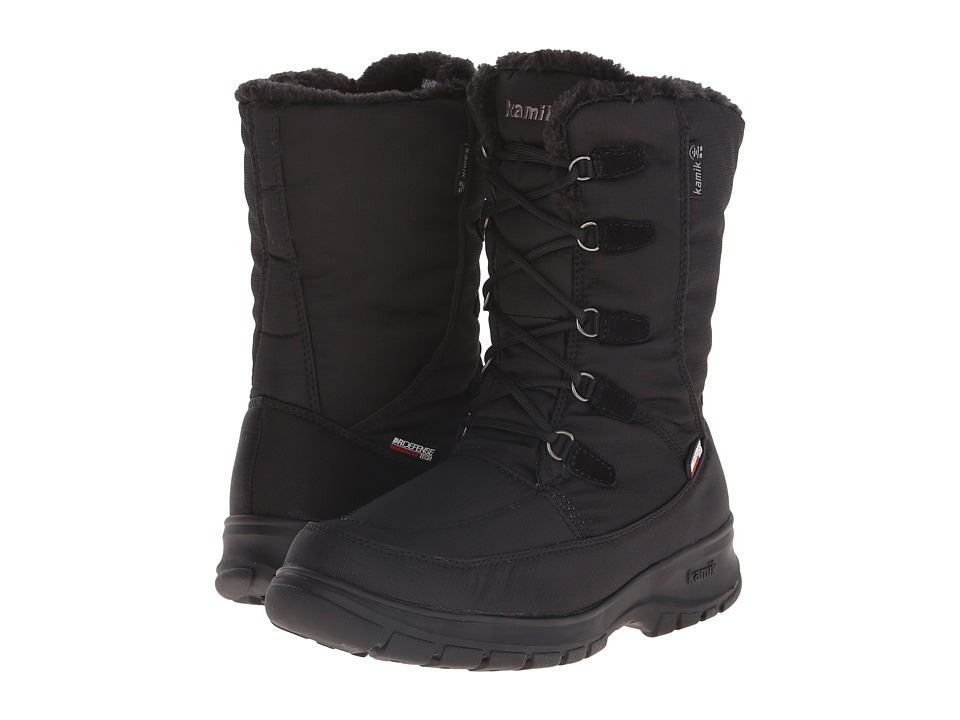 Kamik - Brooklyn (Black) Women's Cold Weather Boots
