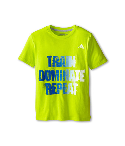 adidas Kids - 30's Short Sleeve Tee Digital Fade Tra (Big Kids) (Solar Yellow/Collegiate Royal) Boy's T Shirt