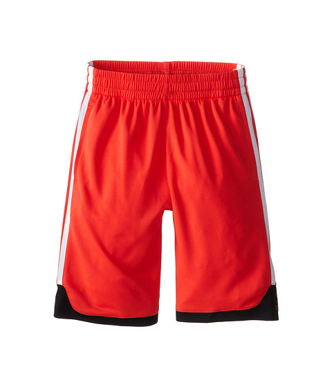 adidas Kids - Key Item Short (Little Kids/Big Kids) (Bright Red/Black) Boy