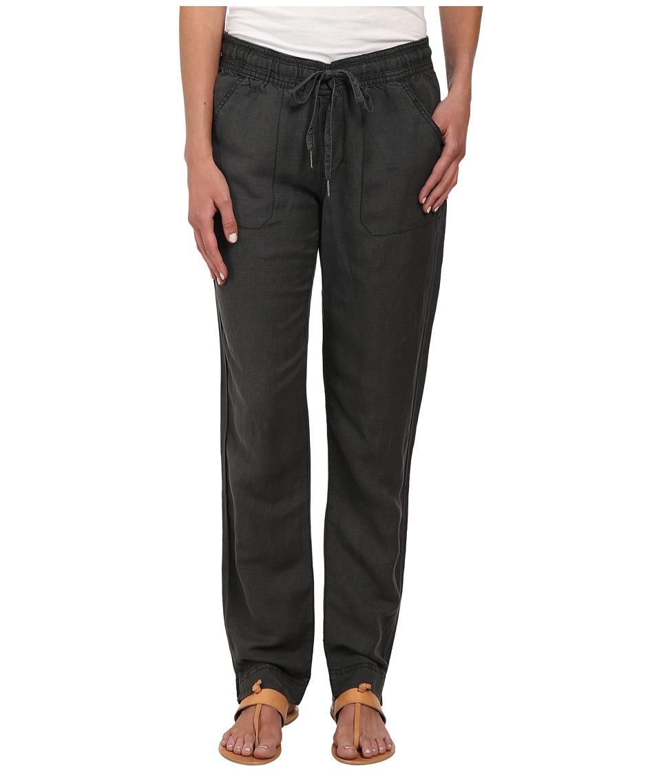 Calvin Klein Jeans - New Linen Pants (Black) Women's Casual Pants