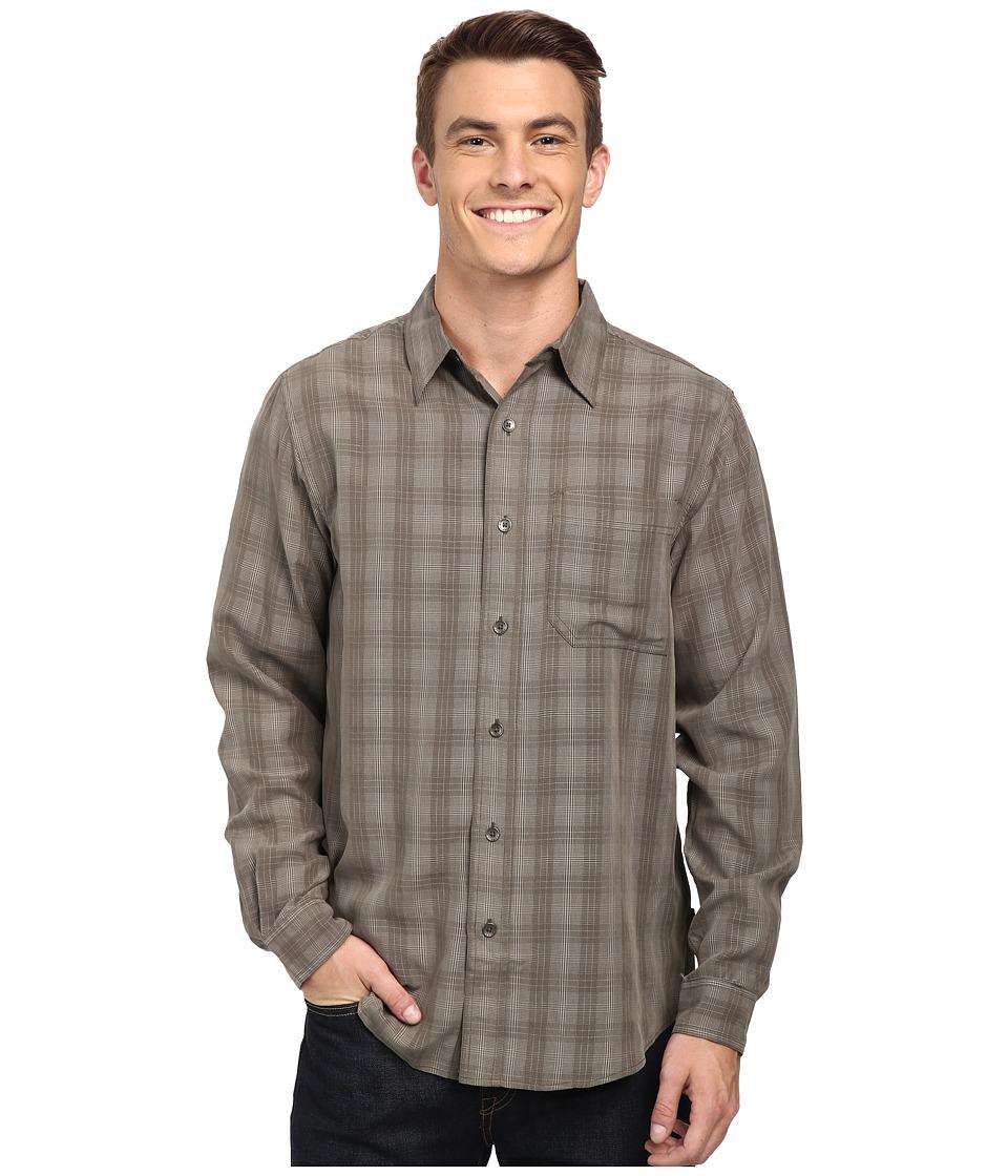 Royal Robbins - San Juan Plaid Long Sleeve Shirt (Light Olive) Men's Long Sleeve Button Up
