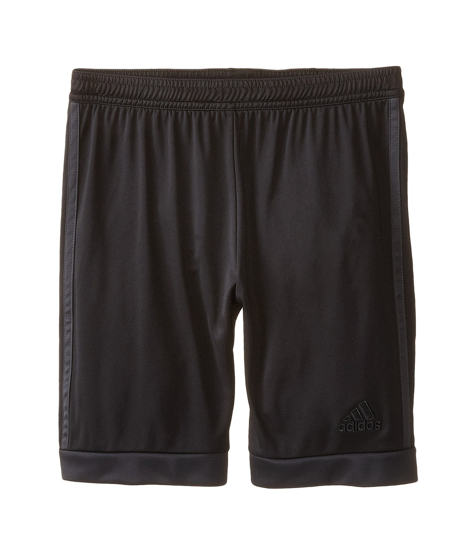 adidas Kids - Tastigo 15 Shorts (Little Kids/Big Kids) (Black/Dark Grey) Kid's Shorts