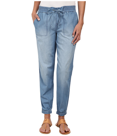 Calvin Klein Jeans - Drawstring Denim Pants in Colbalt Blue (Colbalt Blue) Women's Jeans