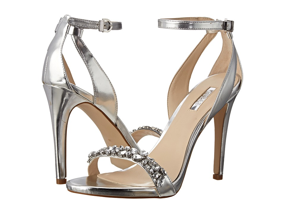 GUESS - Catarina (Silver Synthetic/Stones) High Heels