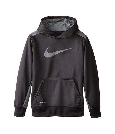 Nike Kids - KO 3.0 Oth Hoodie (Little Kids/Big Kids) (Anthracite/Cool Grey/Cool Grey) Boy's Sweatshirt