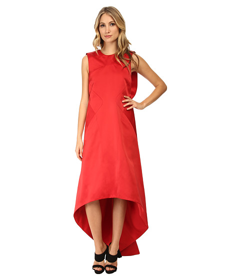 Zac Posen - 03-8233-46 (Cardinal) Women's Dress
