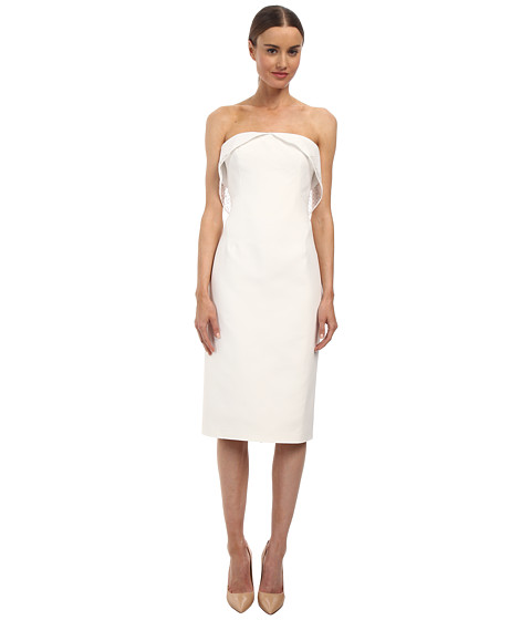 Zac Posen - 11-5255-46 (Ivory) Women's Dress