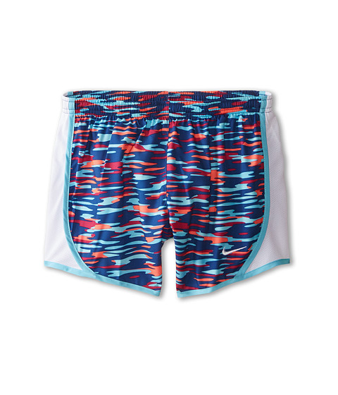 Nike Kids - Tempo AOP Shorts (Little Kids/Big Kids) (Insignia Blue/White/Tide Pool Blue/White) Girl's Shorts