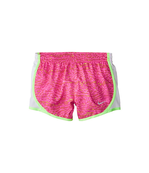 Nike Kids - Tempo AOP Shorts (Little Kids/Big Kids) (Pink Pow/White/Ghost Green/White) Girl's Shorts