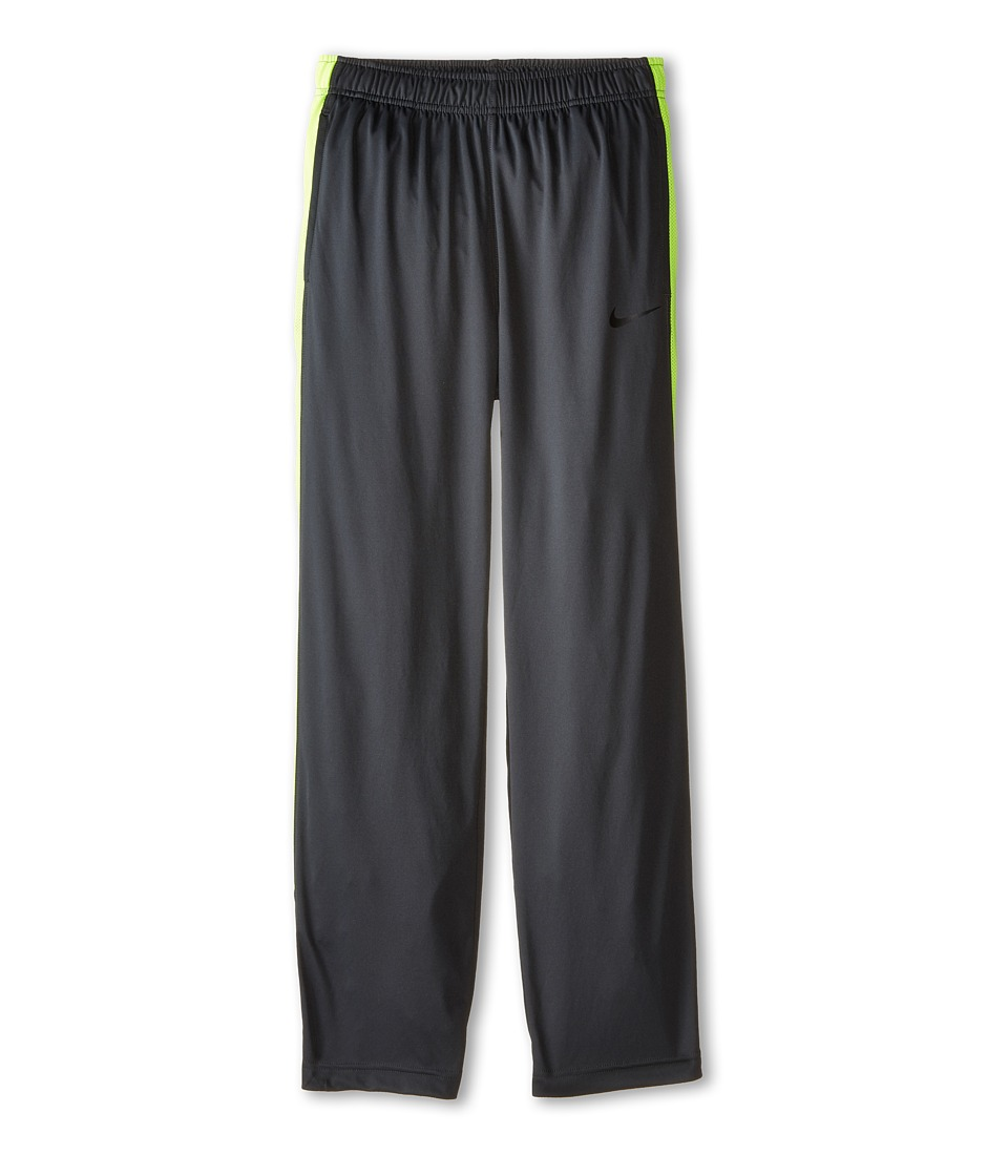 Nike Kids - Lights Out Pant (Little Kids/Big Kids) (Anthracite/Volt/Black) Boy