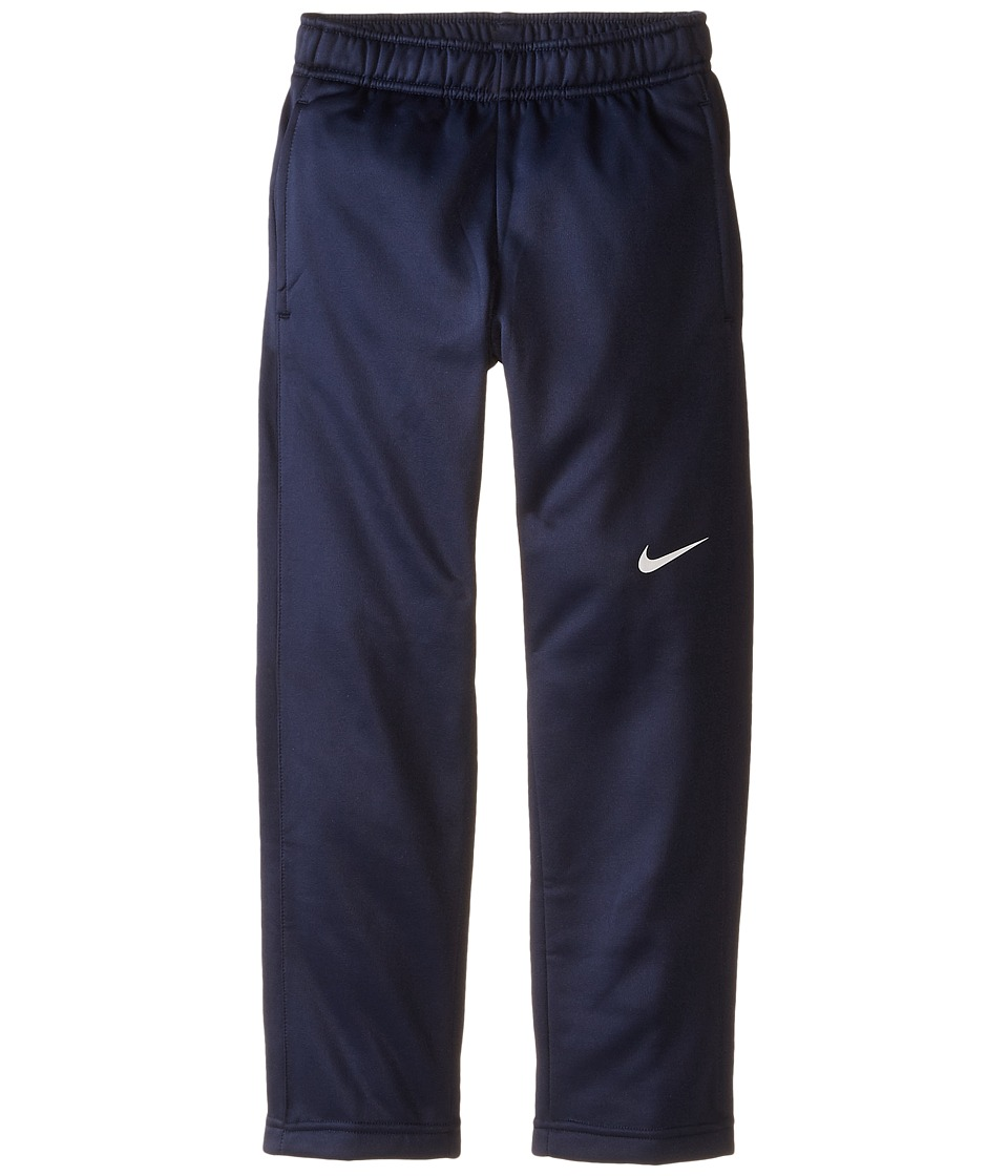 Nike Kids - KO 3.0 Fleece Pants (Little Kids/Big Kids) (Obsidian/Obsidian/White/White) Boy's Casual Pants