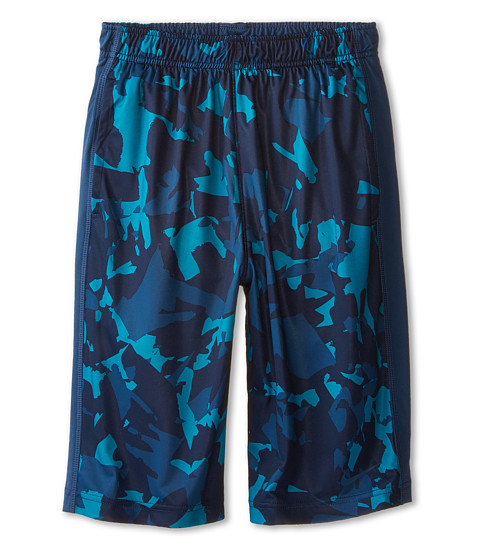 Nike Kids - Fly GFXL Shorts (Little Kids/Big Kids) (Teal/Squadron Blue/Squadron Blue) Boy