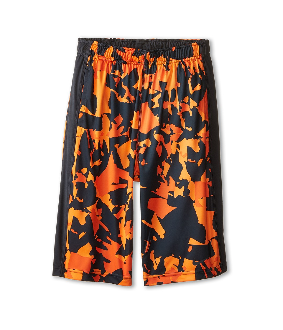 Nike Kids - Fly GFXL Shorts (Little Kids/Big Kids) (Electro Orange/Anthracite/Anthracite) Boy's Shorts
