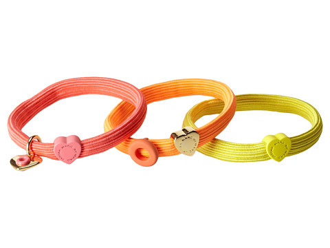 Marc by Marc Jacobs - Hole Hearted Cluster Ponies (Bright Rose Multi) Hair Accessories