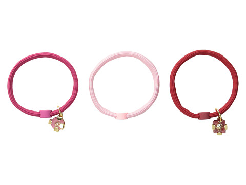 Marc by Marc Jacobs - Glass Gems Cluster Ponies (Rose Red Multi) Hair Accessories