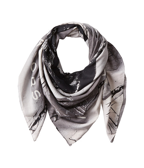 Marc by Marc Jacobs - Milky Block Scarf (Black Multi) Scarves